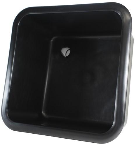 Labstream spoelbak 320x320x200mm Kappa Plus, zwart