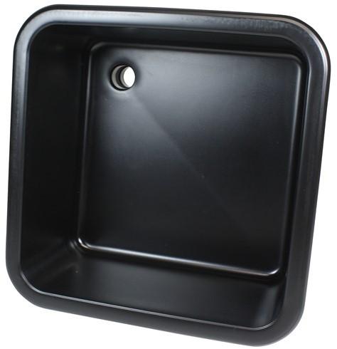 Labstream spoelbak 450x450x250mm Kappa, zwart