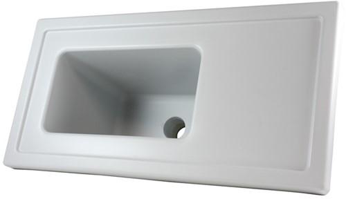 """Labstream PP sink-unit """"Alpha"""" 600x300x220mm"""
