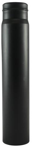 Labstream PP standpijp 245mm voor PP bakken, zwart