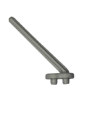 Labstream PP pin for pegboard, length 14cm, RAL7035