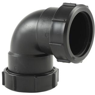 Labstream PP elbow 50mm, 90°